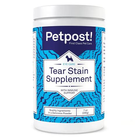 shih tzu tear stains petpost tear stain remover supplement for dogs eyebright lutein