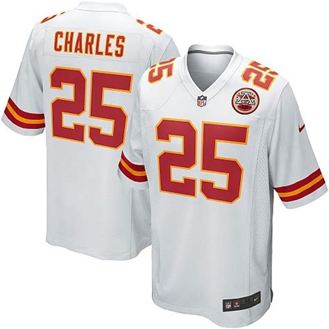 youth chiefs jamaal charles 25 jersey unique p 350 nfl kansas city chiefs youth elite white road nike jersey