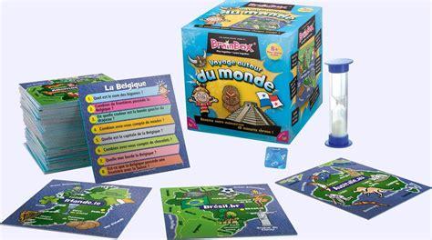 Asmodee Jeux De Societe De Voyage by Brainbox Voyage Autour Du Monde Jeu De Soci 233 T 233 Chez Jeux De Nim