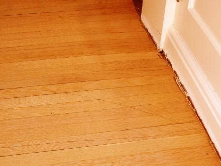 Possible to refinish hardwood floor without messing with