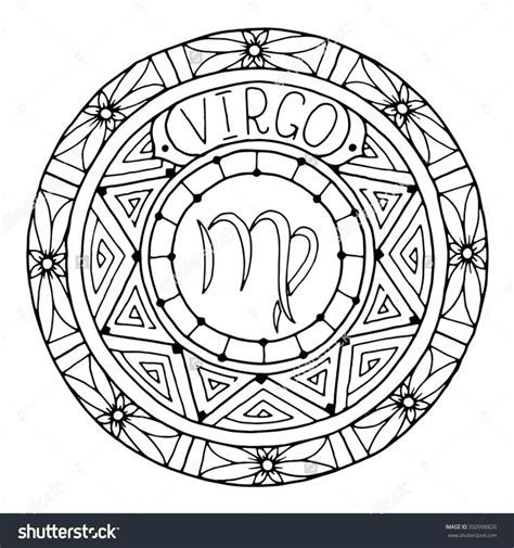 zodiac mandala coloring pages 1000 images about zodiac coloring pages for adults on