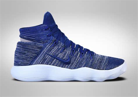 Sepatu Nike Hyperdunk 2017 Flyknit Low Basket Blue Yellow Biru nike hyperdunk 2017 flyknit navy blue price 152 50