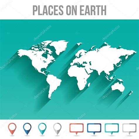 世界地图用别针 平面设计矢量图 图库矢量图像 169 yanalesnyk 64518191