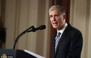 neil gorsuch fly fishing trump s supreme court nominee is neil gorsuch daily mail