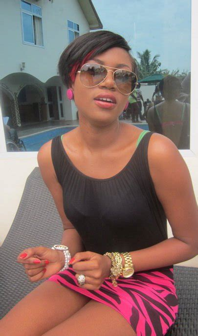 yvonne nelson hairstyles who rocks with the short hair style yvonne nelson luckie
