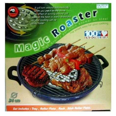 alat panggang maspion magic roaster pemanggang teflon