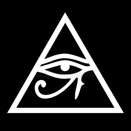 occhio di horus illuminati all seeing eye of god eye of providence symbol of