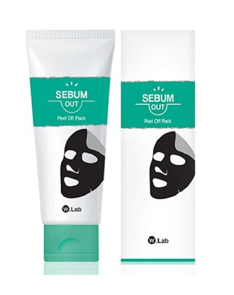 W Lab W Lab Peel Pack w lab sebum out peel pack blackhead mask mask