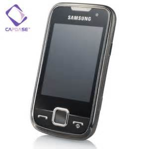 Graphic Softjacket capdase soft jacket 2 xpose samsung s5600 black