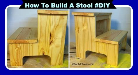 How To Build A Step Stool by How To Build A Step Stool For Your Toddler Easy Diy