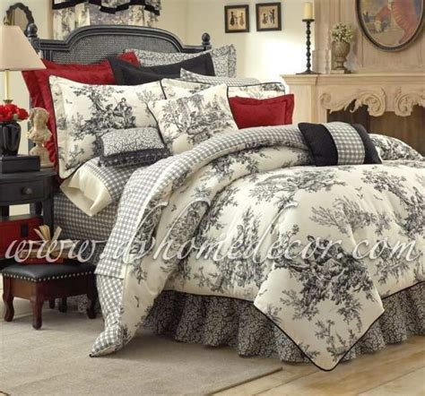 Toile Bedroom by Toile Bedroom Home