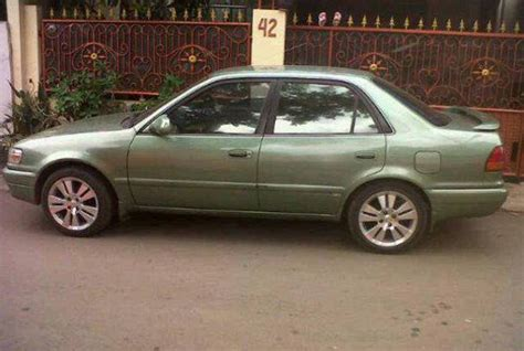 Toyota All New Corolla 1 6 Seg toyota corolla all new seg 1 6 1997 jual beli mobil