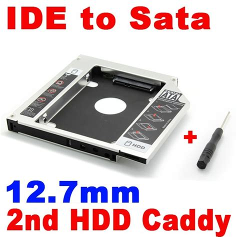 Hardisk Laptop Ide Second aliexpress buy universal 2nd hdd caddy 12 7mm ide to
