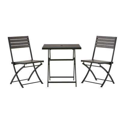 backyard patio awnings oak cliff custom 3 piece metal bistro sets patio dining furniture the home depot