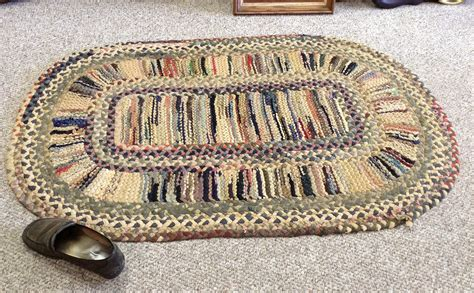 vintage braided rugs antique braided rug pattern the ebay community