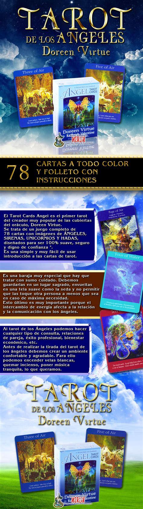 tarot angelico libro de los angeles libro 78 angel tarot cards doreen virtue 78 cartas en ingles bazar merl 237 n el lugar mas m 225 gico en