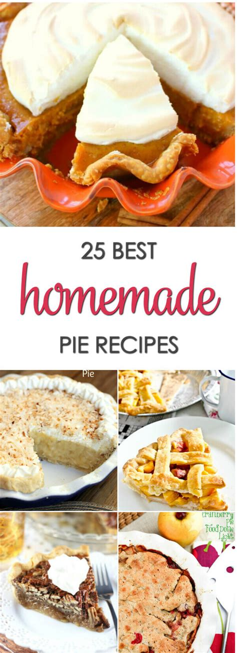 Delicious Pies To Try This Summer by 25 Delicious Pie Recipes It Is A Keeper