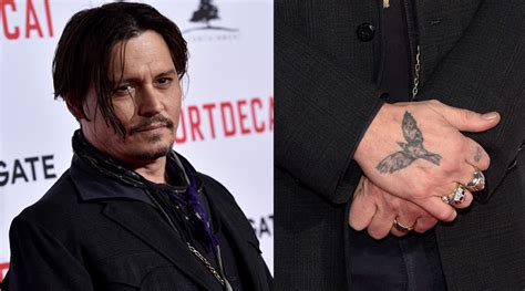 the crow tattoo johnny depp inspiring stories behind your favorite celebrities