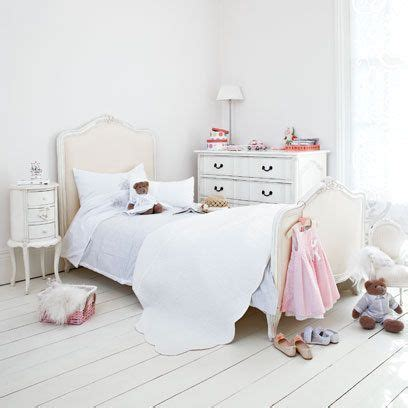 girls white bedroom white floorboards in girls bedroom interiors home