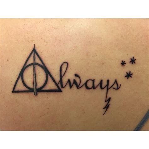tattoo font always awesome top 100 harry potter tattoos http 4develop com