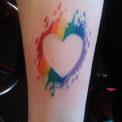 gay pride tattoo 17 best ideas about pride on pride