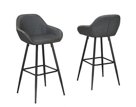 bar stools fresno ca fresno 26 bar stool set of 2 vintage grey walmart canada