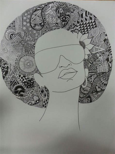 hair pattern drawing pin by dianne butler on zendoodle pinterest