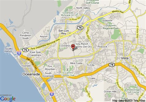 oceanside california us map map of residence inn san diego oceanside oceanside