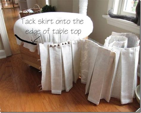 how to cover an ottoman 423 best home decor jute burlap linen lace organza images