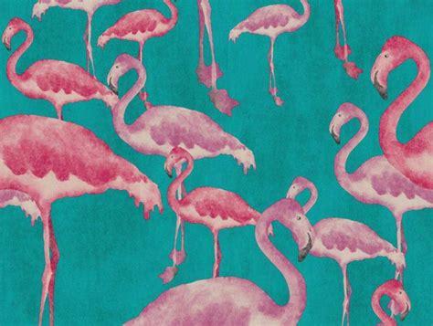 flamingo wallpaper walls flamingo beach fuschia designer wallpaper