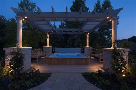 Outdoor Pergola Lights Outdoor Lighting For Pergolas Best 25 Pergola Lighting Ideas On Pergula Www Hempzen Info