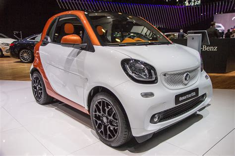 who makes a smart car 2016 smart fortwo makes u s debut
