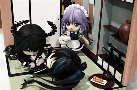 Nendoroid Master dead master x black rock shooter myfigurecollection net
