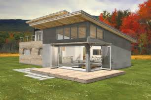 Shed Roof Homes Modern Style House Plan 3 Beds 2 Baths 2115 Sq Ft Plan 497 31