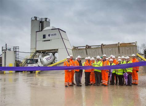 open new rail fed depot in theale agg net