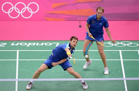 birgit michels photos photos olympics day 1 badminton zimbio