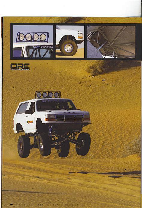 bronco trophy truck streetable trophy truck ford bronco forum