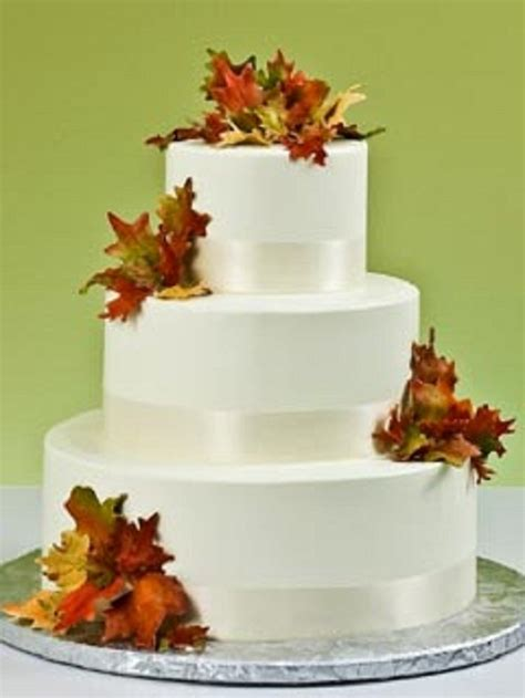 Simple Wedding Cake Ideas For Fall by Fall Wedding Cakes Simple Wedding Inspiration