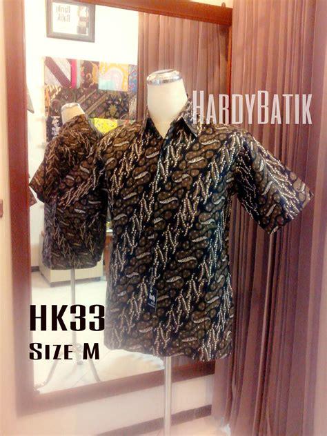 Kemeja Batik Modern 10 kemeja batik pria hk33 hardybatik