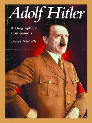 hitler biography free ebook adolf hitler by david nicholls 183 overdrive rakuten