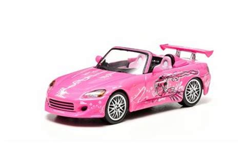 Wheels Fast Furious Series Honda S2000 Pink 2 fast 2 furious 2003 2001 honda s2000 pink diecast