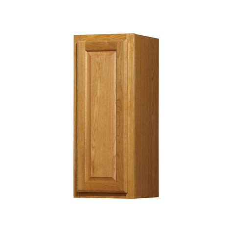 Kitchen Classics Cabinets Shop Kitchen Classics 12 In W X 30 In H X 12 In D Finished Portland Oak Single Door Kitchen Wall