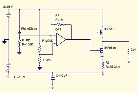 transistor driving inductive load mosfet push pull not driving inductive load as expected electrical engineering stack exchange