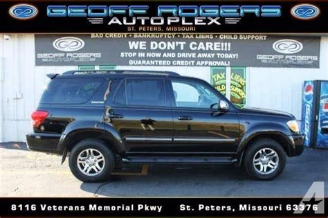 2007 Toyota Sequoia For Sale 2007 Toyota Sequoia Limited For Sale In Peters