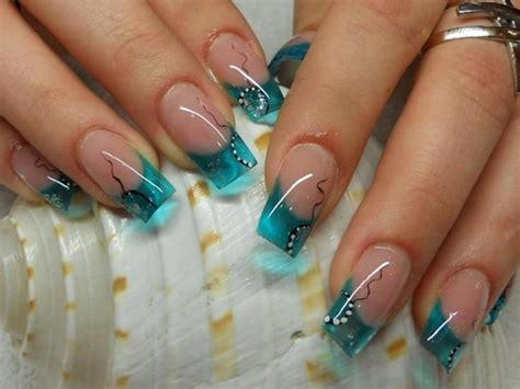 imagenes de uñas pintadas en turquesa im 225 genes de u 241 as decoradas para 15 a 241 os todo para la