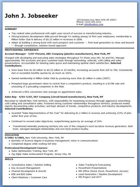 Manufacturer Sales Representative Resume   Resume Downloads