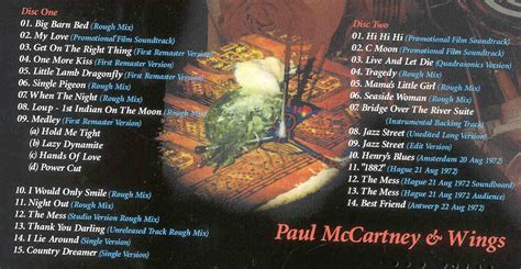 paul mccartney wings red rose speedway sessions  cd set