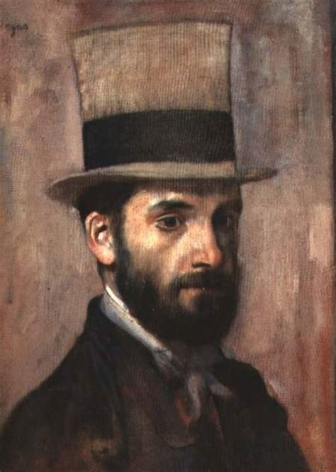 portrait  leon bonnat   edgar degas  art