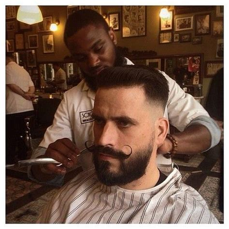 haircuts that go with a handlebar mustache beard with handlebar mustache stache pinterest