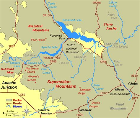 arizona mountains map pcso plane crashes into superstition mountains arizona